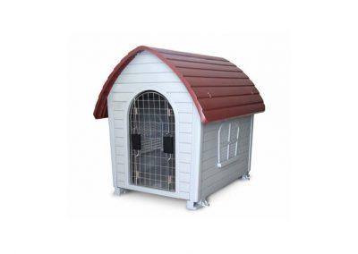 sunny articulos para mascota perro casas teja SDH503 400x284 - Casas y camas para perros