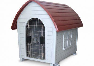 sunny articulos para mascota perro casas teja SDH504 400x284 - Casas y camas para perros