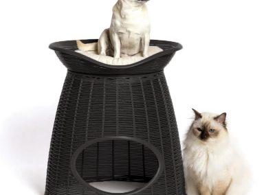 chocolate 400x284 - Casas para gato