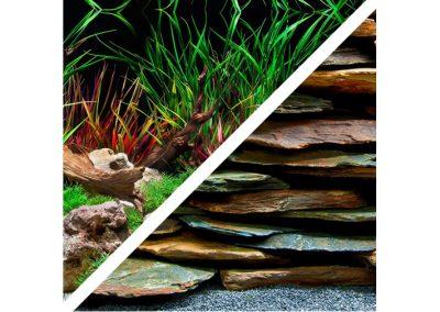 artículos para mascota peces respaldo para acuarios BGSL5 12 400x284 - Decoración Acuario