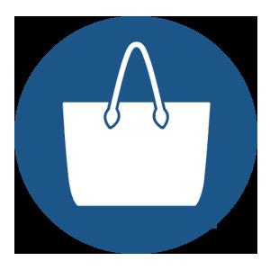 bolsa azul - Bolsas