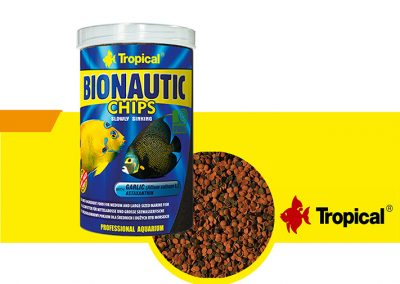ALIMENTO TROPICAL BIONAUTIC CHIPS TP 61164