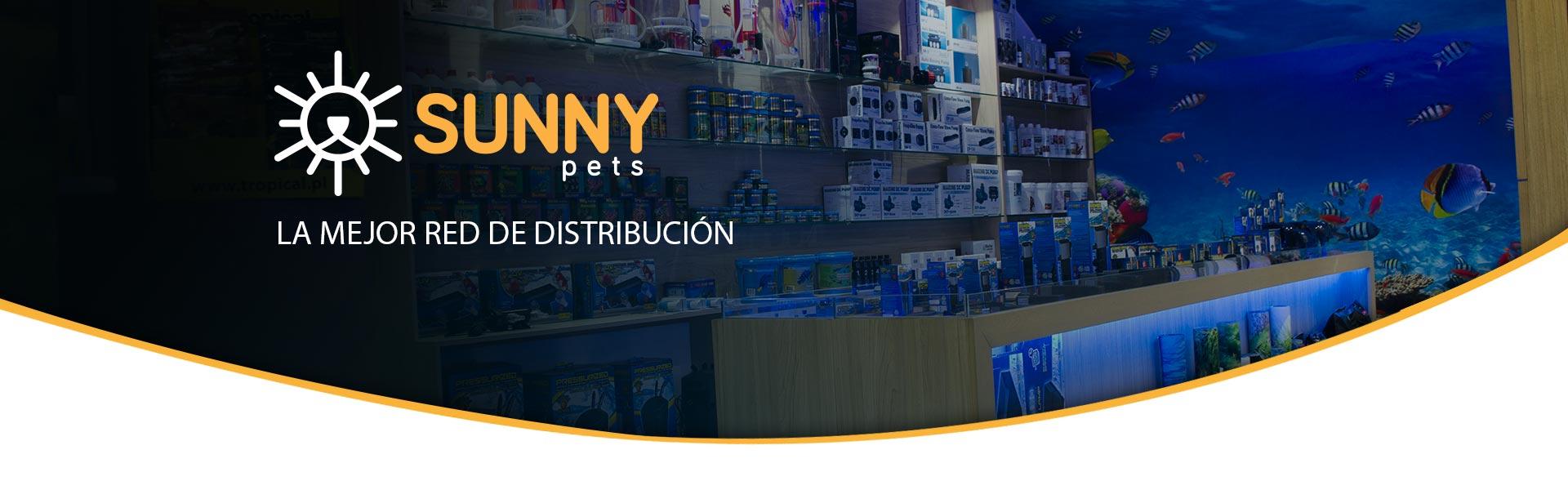 Distribuidor accesorios mascotas acuarios sunny