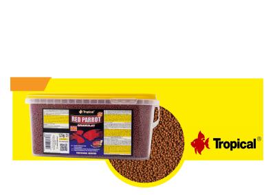 TP 60717 ALIMENTO TROPICAL RED PARROT GRANULAT 1.2Kg 400x284 - Alimentación peces agua dulce